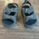 Faded Glory baby boy's green camo sandals size 2