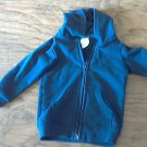 Navy baby boy's sweater jacket 18 mos