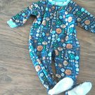 Navy baby boy's sports long sleeve sleepwear/outfit 18 mos