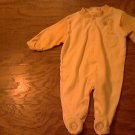 Baby boy's off white  long sleeve sleepwear/outfit 0-3 mos