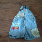 Baby boy's blue denim jumpsuit 18 mos