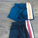 Garanimals baby boy's 2 piece black and navy shorts 12 mos