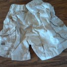 Carter baby boy's tan camo short 6-9 mos