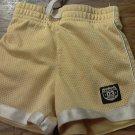 Carter's baby boy's yellow short 12 mos