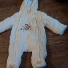 Disney baby boy's cream sleepwear/coverall 0-3 mos