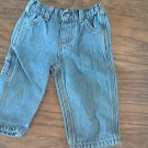 Carter's baby boys denim blue pant 6 mos