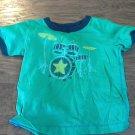 Baby Boy's green short sleeve shirt 18 mos