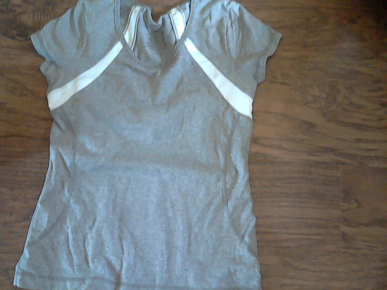 Danskin girl's gray short sleeveless top 4-6