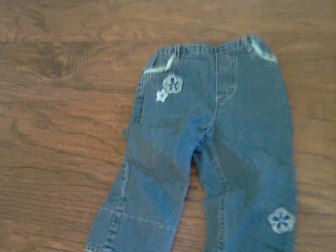 18 mos girl's blue jean pant