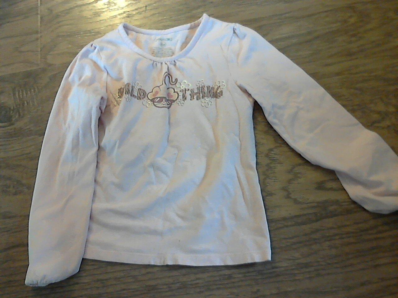 Greendog girls pink long sleeve shirt size 6x