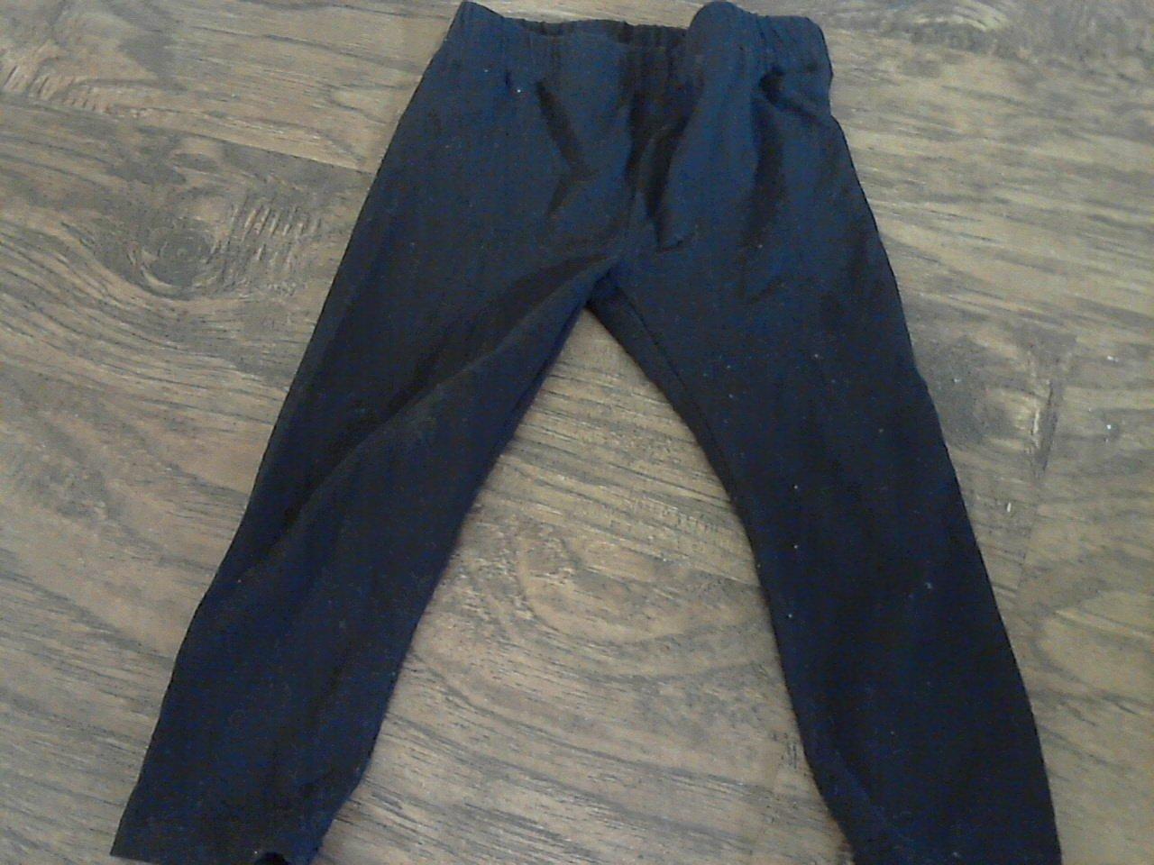 Garanimals baby girl's black pant 24 mos
