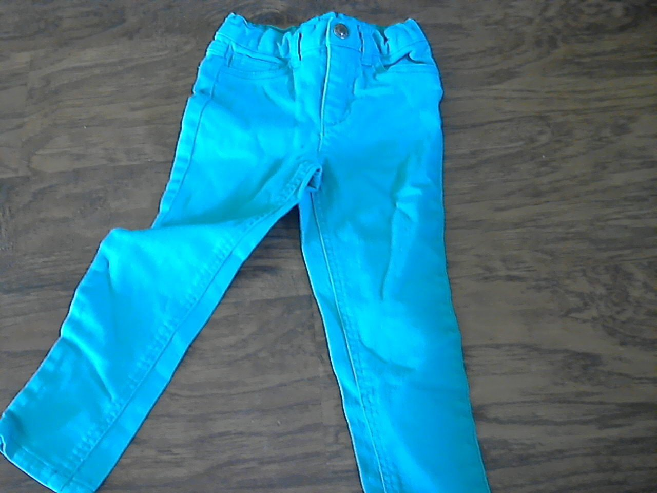 Arizona toddler girl's light blue jean pant 3T