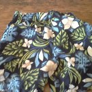 Max Grey baby boy blue hawaii elastic waist short 12-18 mos