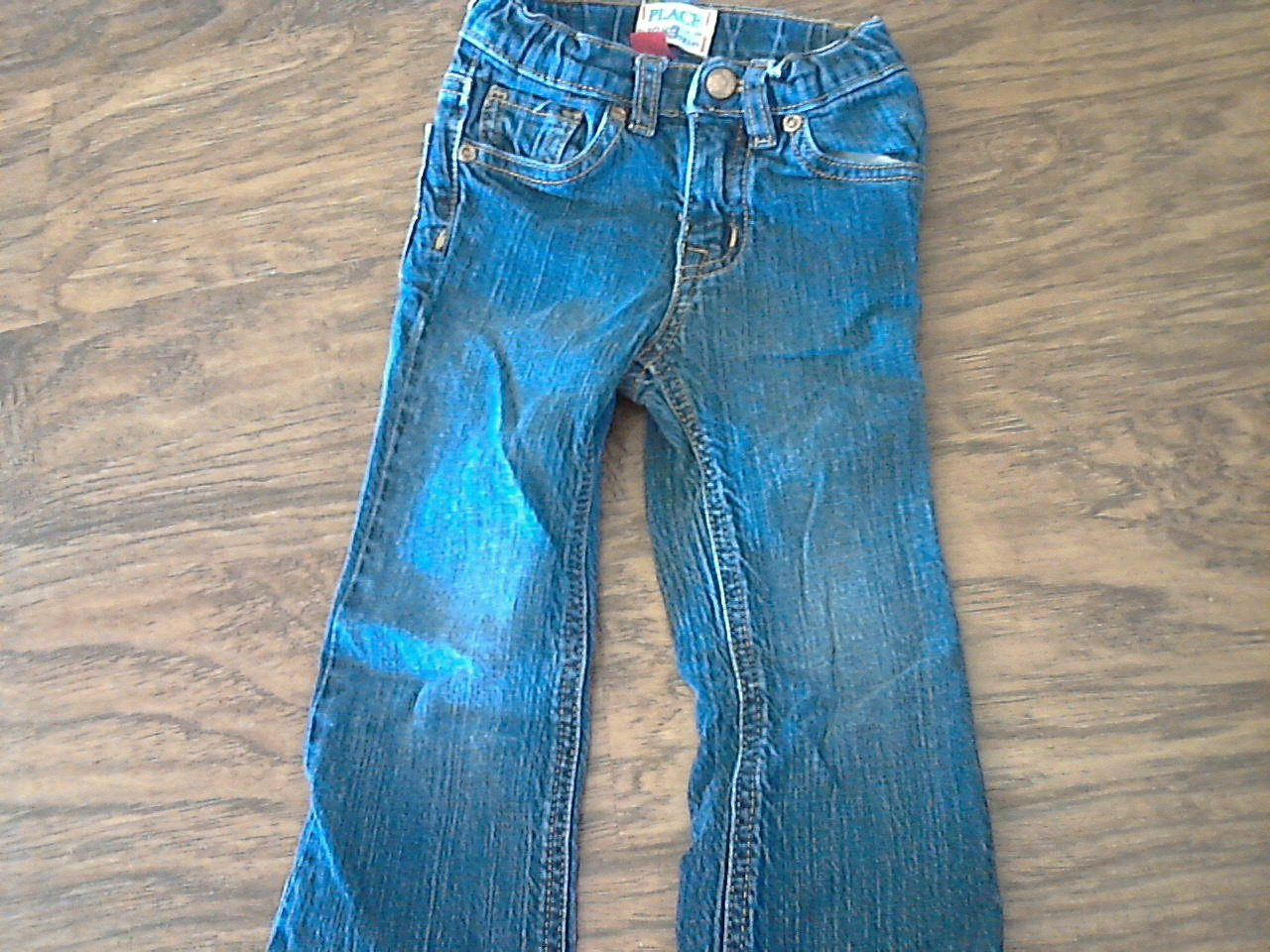 The Children's Place toddler girl's denim stretch pant bootcut 3T