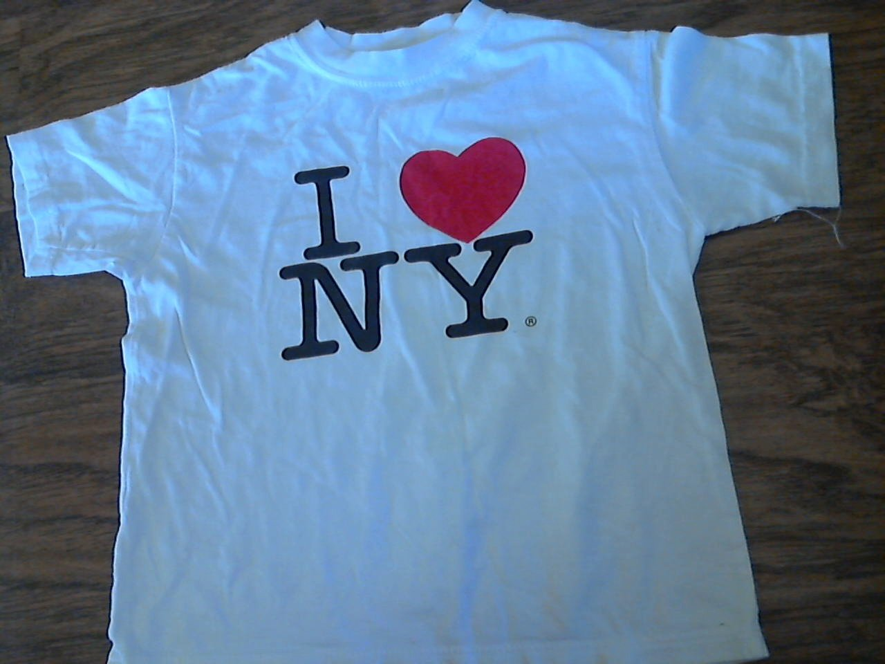 Talha USA girl's white short sleeve shirt Size Medium