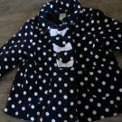 Gymboree girl's navy long sleeve sweater jacket 2T-3T