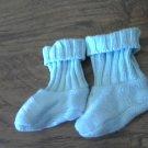 Baby boy's blue socks size 0 newborn