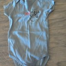 Calvin Klein baby boy's dark gray oneise 6-9 mos