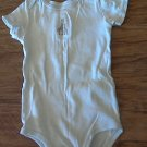 Carter's baby boy or girl blue stripe bodysuit 18 mos