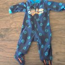 Carter's baby boy's navy sleepwear/outfit 6-9 mos