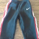 Nikie baby boy's black elastic waist sweater pant 18 mos