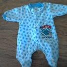 Carter's newborn baby boy's blue sleepwear/outfit