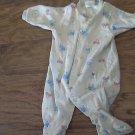 Carter's baby boy's trucks print gray sleepwear/outfit 6-9 mos