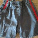 The children's place baby boy's navy elastic waist short 6-9 mos