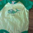 Kavio infant boy's green short sleeve onesie 12 mos