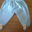 Infant boy's blue elastic waist pant 9 mos