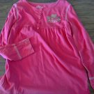 Circo girl's hot pink long sleeve shirt M 7/8