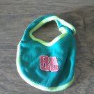 Baby boy's green bib one size