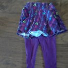 Garanimals baby girl's skirt legging set 18 mos