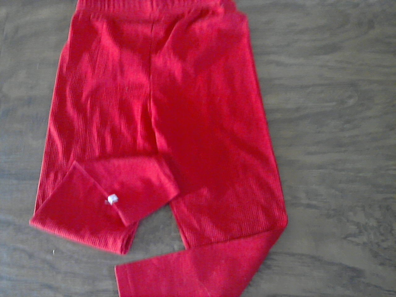 Healthtex girl's red elastic waist pant size 5
