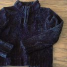 Girl's black long sleeve sweater size M/5-6