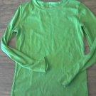 Cherokee girl's green long sleeve shirt size Medium