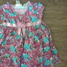 Youngland girl's purple floral dress 4T