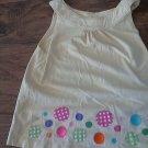 Girl's yellow sleeveless top tank size 4T