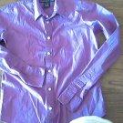 Ralph Lauren Sport woman's purple long sleeve shirt size SP slim fit