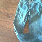 Merona woman's denim low rise boot pant size 6M