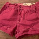 Faded Glory girl's hot pink short size 8