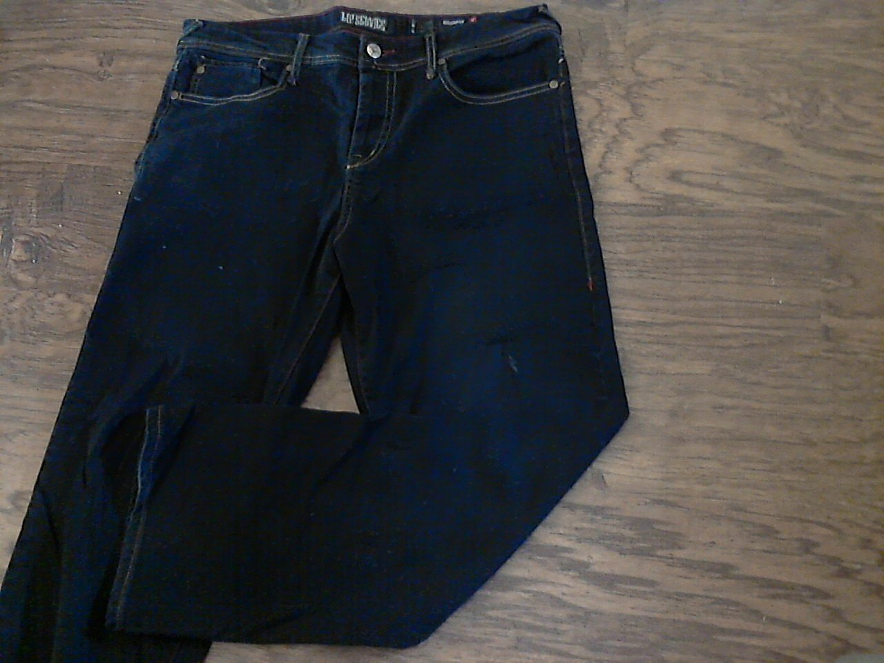 Rockaway man's black denim pant size 34/30