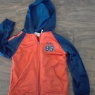 Athletic Works toddler boy's orange long sleeve jacket size 4T