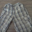 Boy's brown stretch back short size 8