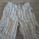 Boy's brown stretch back short size 7