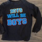 Healthtex boy's black long sleeve shirt size 3T