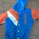 Little King boy's orange and blue long sleeve jacket size 4T