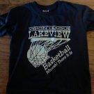 Jerzees boy's navy short sleeve t-shirt size 6-8