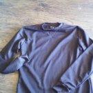 Nevada Man's Chocolate long sleeve sleepwear shirt size Medium