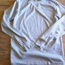 Nevada Man's Gray long sleeve sleepwear shirt size Medium